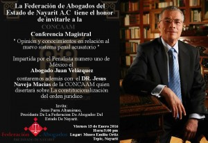 invitacion a conferencia magistral